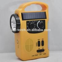 600mah solar hand cranking dynamo led lantern+ AM/FM radio+ phone charger.
