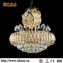 Light Crystal Kristal Decorate Industrial lodge hung luminaire C0019