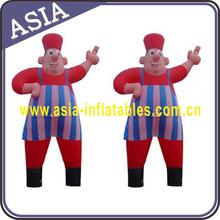 Advertising clown air dancer inflatable/air dancer tube clown man/sky air dancer man