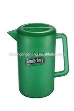 Food grade plastic ice water jugs beer pitcher