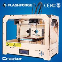 high quality digital 3d printer Dual-extruder Flashforge 3D Printer digital Printer