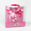 Kids Hair Accessory Set-pink Ribbon Bow Hair Band With Hair Clip Set