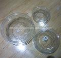 descartáveis de plástico grande transparente tigela de salada com tampa