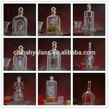 750ml cam ruhu şişelerde, ucuz şarap şişeleri, benzersiz şarap şişeleri