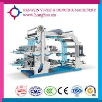 CE standard high speeding fully automatic plastic bag flexo printing machine made in China