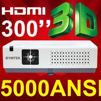 Low cost FUll HD 1080p 3LCD HDMI VGA 3D video high brightness digital projector proyector beamer