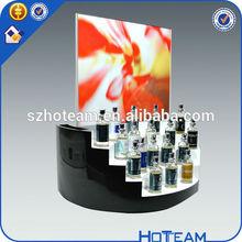 acrylic cosmetic display acrylic make up display rack acrylic nail polish display
