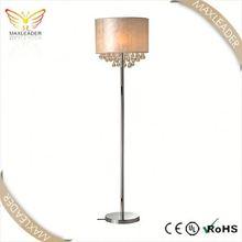 FACTORY BEST SELLING!! Modern Design large chrome mesh tube floor lamp