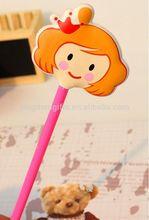 Pink color ABS roller pen