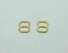 High Quality Metal Bra Rings Sliders Hooks Gold Slider For Bra