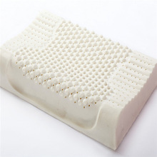 Wave Streamline Pillow Anti-mites and Anti-bacteria Latex Pillow