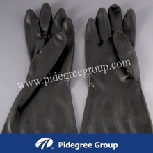 Cheap leather safety glove