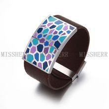 Men wrap bracelets hot virgin mary jewel fashion NSB527PUWGBKL