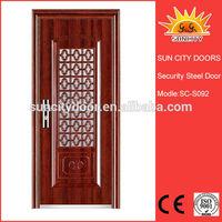 flat metal door SC-S092