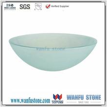 Special glass wash hand basins/wholesale wash sink/Corner wash basin for sale