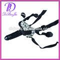 silicio consolador con la correa del cinturón del pene en el nuevo estilo de juguete del sexo