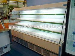 new Supermarket Vegetable display refrigerator/supermarket fruit,beverage refrigerator showcase