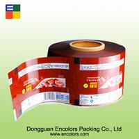 High quality PET/AL/PE food packing film pvc cling film