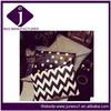 Retro black&white strip/dot/watered clutch bag PU messenger bag