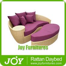 Rattan Round Bed