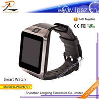 2014 Unisex cheap kids cell smart watch mobile bluetooth phone