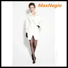 Luxury stylish women latex fashion russia winter coat