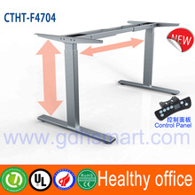 Electric lift mechanism sit and standing office desk & height adjustable desk of use at a treadmill desk frame & go up and down