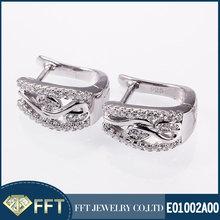 New huggie 925 sterling silver earring