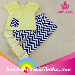 Lovebaby chevron two pieces baby outfits clothing LBE4092071