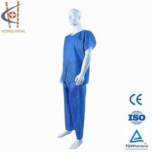 Médica no tejida desechable quirúrgica ropa factori