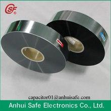 2.8um 3um 4um 5um 6um Antioxidant Plastic Metallized Film for Capacitor Use