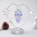Púrpura cristal de regalo, Decoración de uva, Cristal decoraciones de la boda