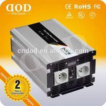 2014 Hot Sale High Quality Power Inverter 12v 220v pure sine wave 2000w inverter 1kw solar converters