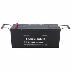 N120MF12V 120AH cheap auto batteries mf auto battery calcium mf batteries