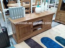 Solid Oak large tv shelf/new style TV unit/living room furniture(FOLTV)