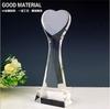Heart shape k9 crystal trophy award for souvenir