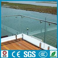 Classical Glass Terrace Balustrade