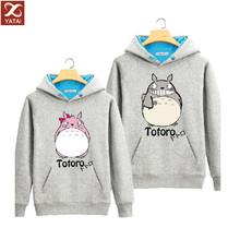 OEM unisex cheap gray pullover totoro hoodie
