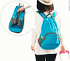 Multi-fonction Waterproof Foldable Backpack Travelling Folded Bags