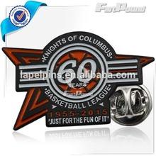 Basketball League design challenge soft enamel pins