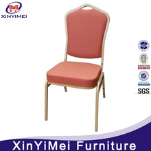 New style hotel steel stackable banquet chair