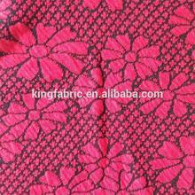 Fashion design Cotton Polyester jacquard jersey knit fabric