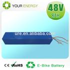 2014Hot sale Your Energy LifePo4 48v 10ah e-bike battery pack