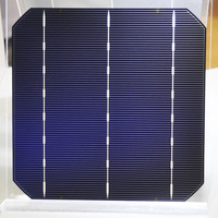 high quality high efficiency A grade cell 125mm*125mm, 156mm*156mm size poly/monocrystalline weight solar cell