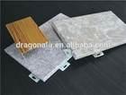 fireproof exterior stone grain aluminium curtain wall panel
