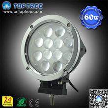 12pcs 60w auto parts Cree tractor 12v 24v led worklight