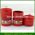 scatola di profumo di lusso rosso in cartone materiale di carta scatola