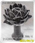 Hot Selling Fashion ceramic Lotus Flower Candle Holder