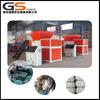 Chinese manufacture plastic film, cardboard, scrap metal, used tire, animal bone, hand operated shredder