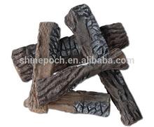 Ceramic fiber fireplace stones